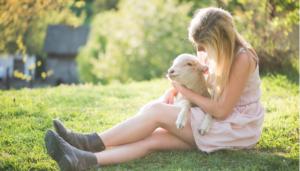 La calma con los animales